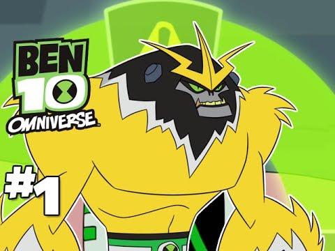 BEN 10 Omniverse Gameplay Walkthrough - Part 1 (HD With Blitzwinger)