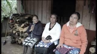 Tejidos producidos en la comunidad de Los Duraznos