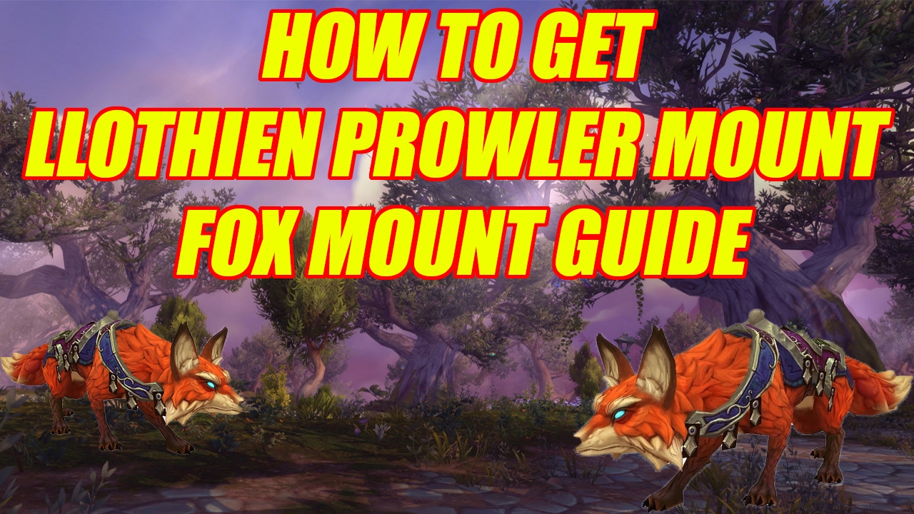 wow how to change mount