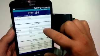 PBH 154의 무선랜을 통한 설정방법