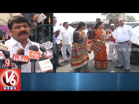 Warangal Urban Collector Amrapali Visits Khamma Municipal Corporation | V6 News