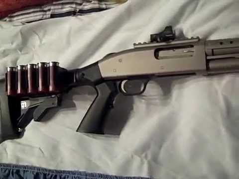 Mossberg 500 Tactical Mariner - YouTube
