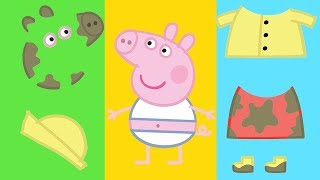 Peppa Pig - Surprise Eggs - Learn Colours - Learning with Peppa Pig