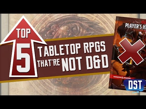 Top 5 Tabletop RPGs That're Not D&D