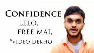 How to be Confident - Hindi Motivational Video
