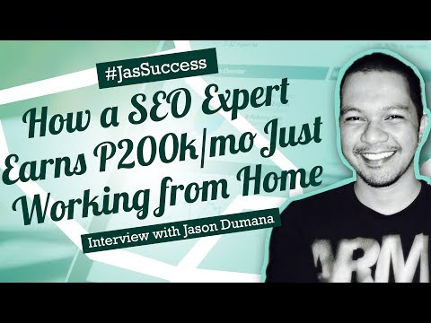 How Jason Dumana Earns P200k per month from Home