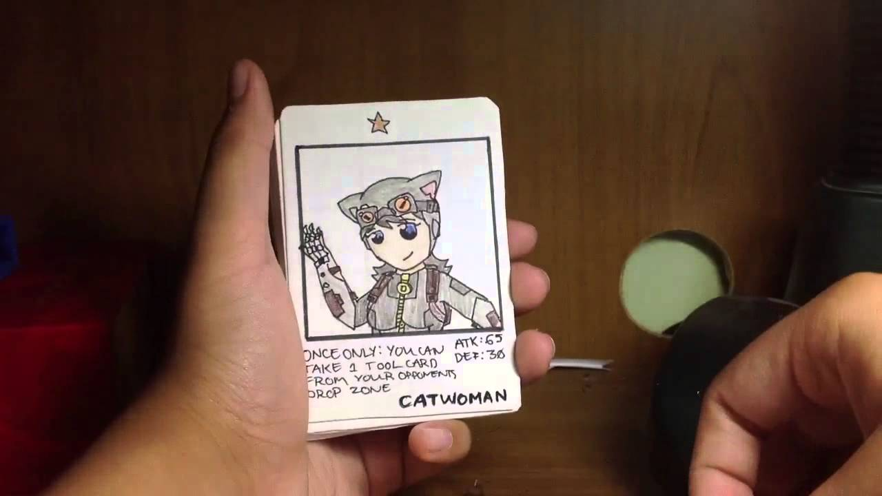 Making Your Own Card Game Part - 38: DC Custom Card Game - YouTube