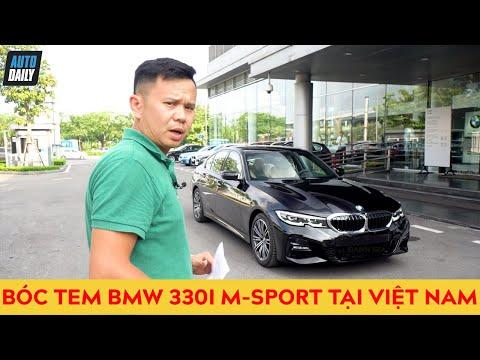 """""""Bóc tem"""" và lái thử BMW 330i M-Sport 2019 giá gần 2,4 tỷ vừa về Việt Nam"""