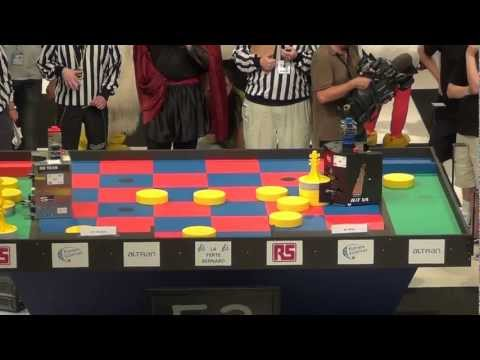 2011 - Finale 1/2 - BH TEAM vs RCVA - Coupe de France de robotique 2011