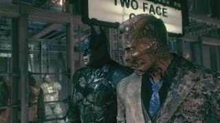 Batman: Arkham Knight - Two Face Boss Battle Gameplay (CAPTURED) [1080p HD]
