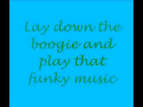 Play that Funky Music with Lyrics