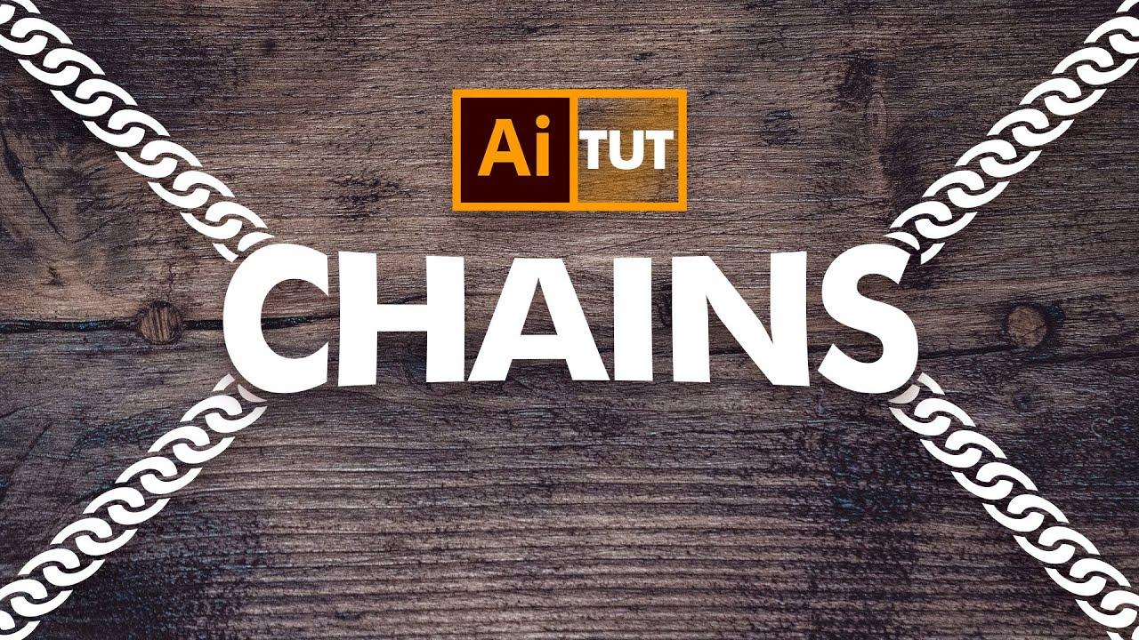 Download Vector Chains in Adobe Illustrator - اردو / हिंदी`
