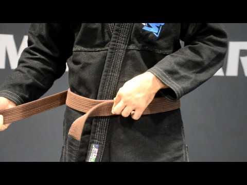 How To Tie A Jiu Jitsu or Judo Belt - American Top Team Miramar