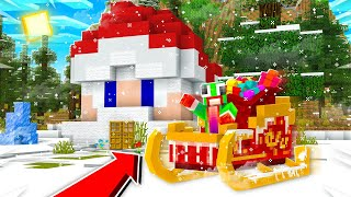 HOW TO FIND SANTA'S WORKSHOP IN MINECRAFT!