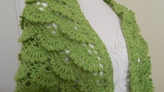 Shawl Triangular Crochet parte 1 de 2