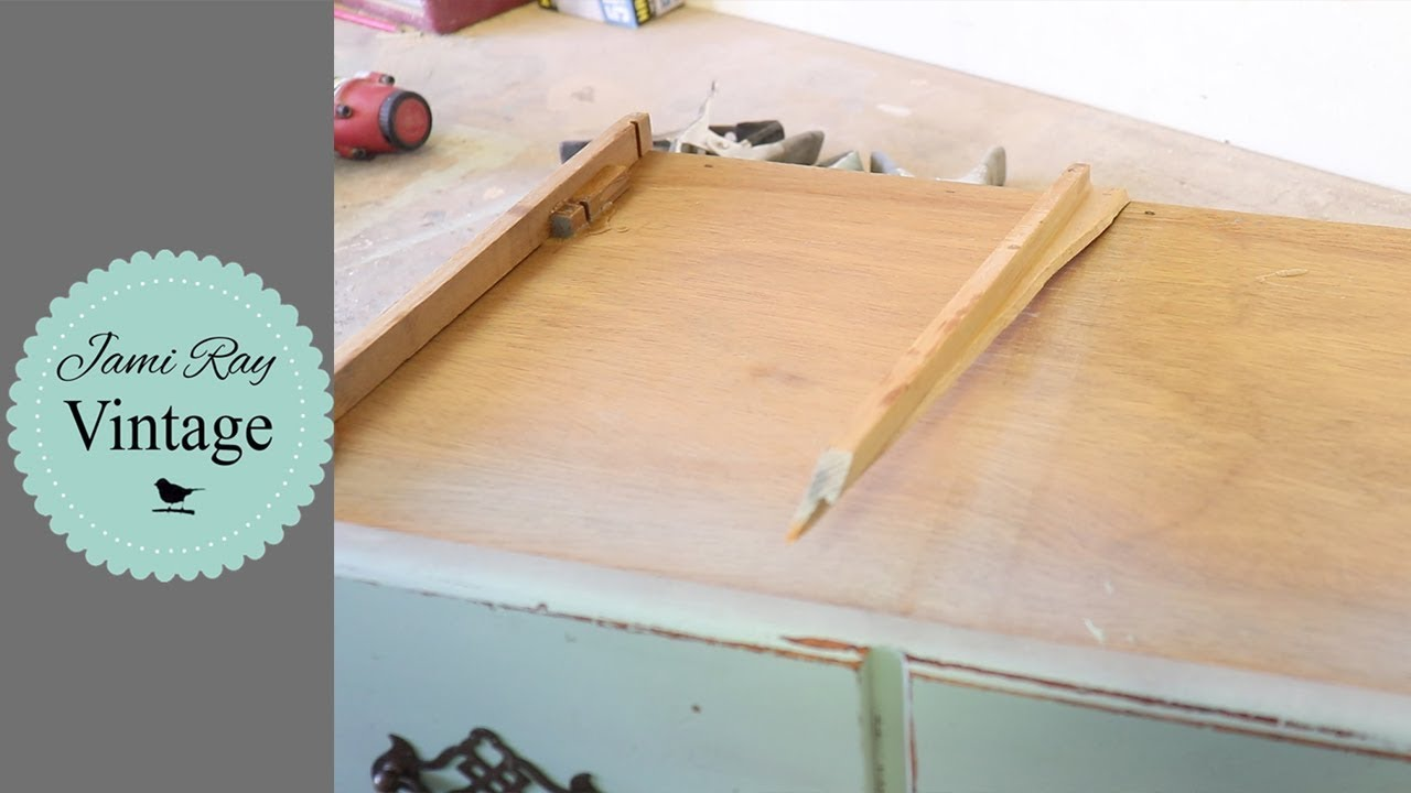 How To Repair Dresser Drawers Drawer