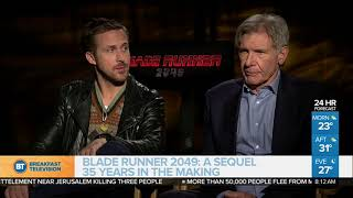 Harrison Ford and Ryan Gosling on 'Blade Runner 2049'