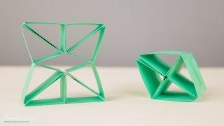 Cách làm đồ chơi Transformer bằng giấy độc đáo