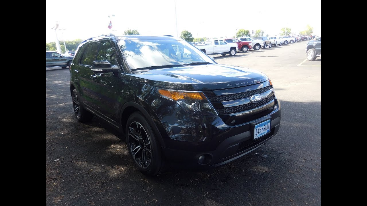 Used 2015 ford explorer sport 3 6l v6 4wd elk river otsego rogers maple grove mn