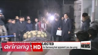 Court rejects arrest warrant for Samsung