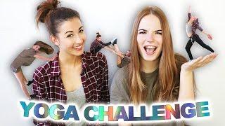 Сумасшедший YOGA CHALLENGE с Meg Deangelis :D