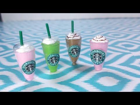 DIY Miniature Doll Starbucks