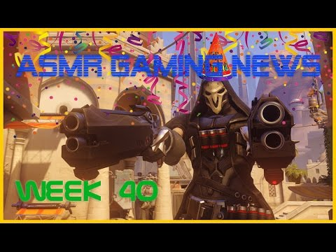 ASMR Gaming News (Week 40) Overwatch Anniversary, Nintendo Switch, E3 2017, EA, SNES PS1 + More!