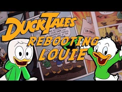 Disney XD's Ducktales: Rebooting Louie Duck
