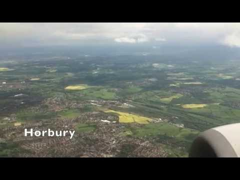 Aerial Views from Huddersfield to Landing at Leeds Bradford Airport - 23rd May, 2016