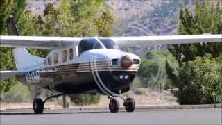 1978 Cessna P210N N210RP departing L05 Kern Valley