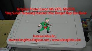 Cara Mengatasi Paper Jam Pada Printer Canon MG2470, MG2570