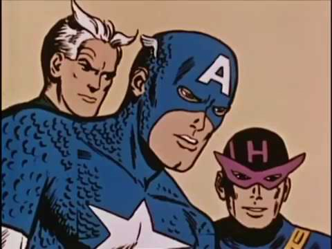 The 1966 Captain America Cartoon was insane (REUPLOAD)