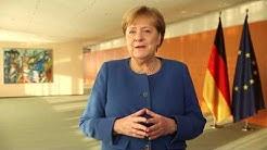 Grusswort von Bundeskanzlerin Angela Merkel zum 25. Weihnachtsfest von Frank Zander.