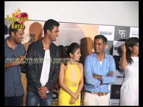 Download Richa Chadha ,Sanjay Mishra & Others at Trailer Launch of 'Masaan' Part  1