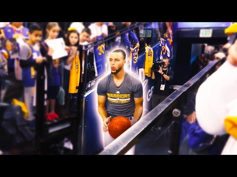 STEPH CURRY MADE IT FROM THE TUNNEL!?