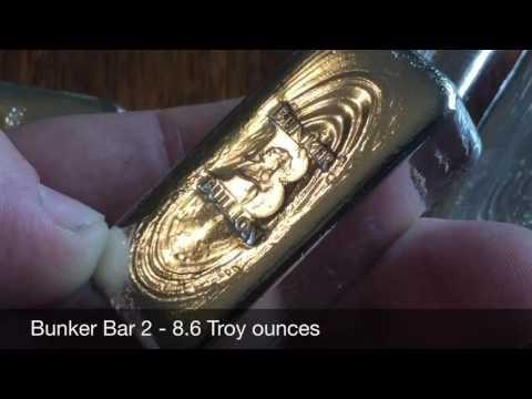 Bunker Bullion Sale: Phase 4 Clearance - 6 Bars (gone)