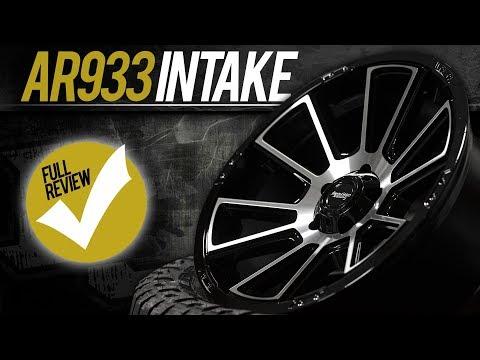 WHEEL REVIEW: AMERICAN RACING AR933 INTAKE