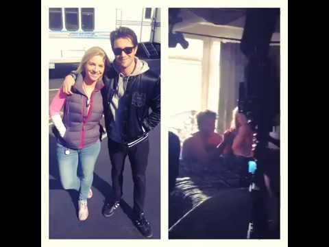 VIDEO - Last day of Josh Bowman on Revenge set with Emily VanCamp