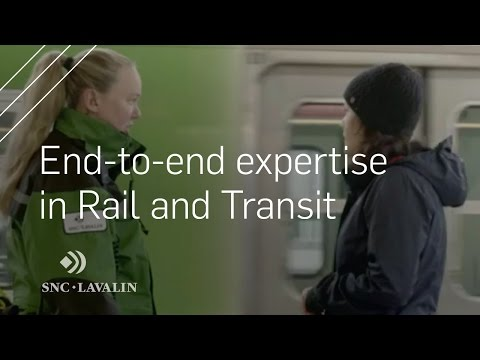 Discover our end-to-end expertise in Rail and Transit