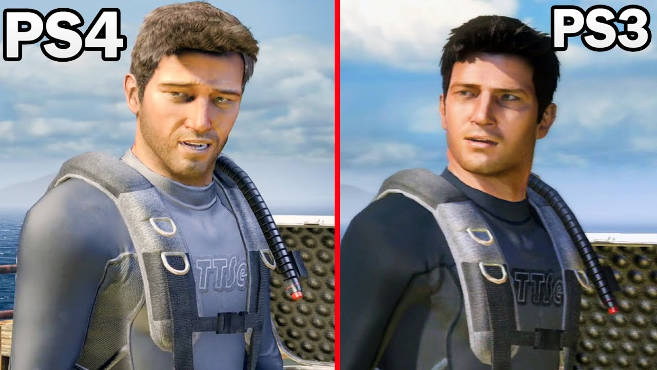 Uncharted 1 Drake S Fortune Ps3 Vs Ps4 1080p 60fps Remastered