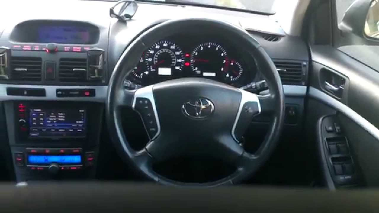 toyota avensis t25 modified interior youtube. Black Bedroom Furniture Sets. Home Design Ideas