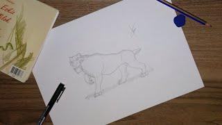 Nasıl Çizilir? İce Age DİEGO Çizimi #11 How To Draw DİEGO Çizimi
