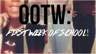 OOTW: First Week of School! Thumbnail