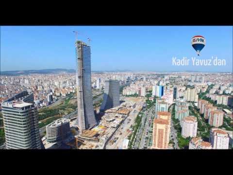 Ataşehir Ağaoğlu Andromeda Gold Residence Drone Video