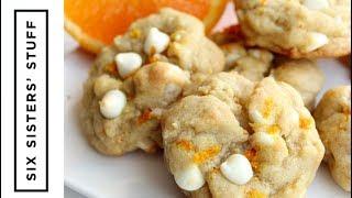 Orange Creamsicle Cookies | Six Sisters Stuff