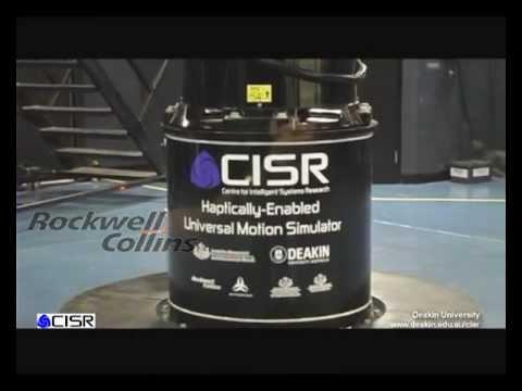 CISR Haptically-Enabled Universal Motion Simulator (UMS)