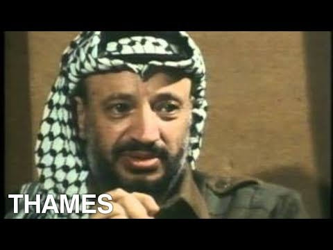 Yasser Arafat interview | PLO Leader | Palestinian |1978