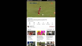 Truyền hình trực tiếp bóng đá hôm nay/trên VTV6