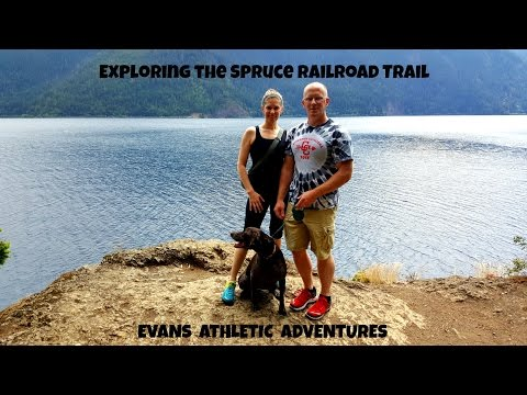 Exploring the Spruce Railroad Trail with Evans Athletic Adventures