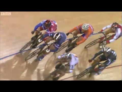 Chris Hoy Wins Mens Keirin - London World Cup 2012